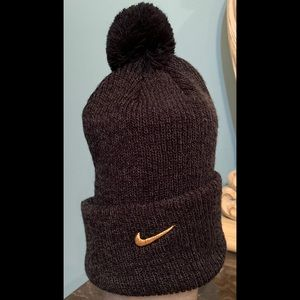 Nike LeBron 13 Knit Hat Black and Grey One Size